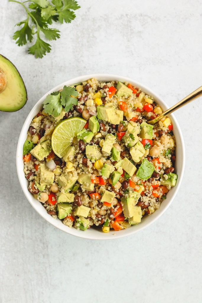 36 Vegetarian Mexican Recipes – Southwest Quinoa Salad | Hurry The Food Up