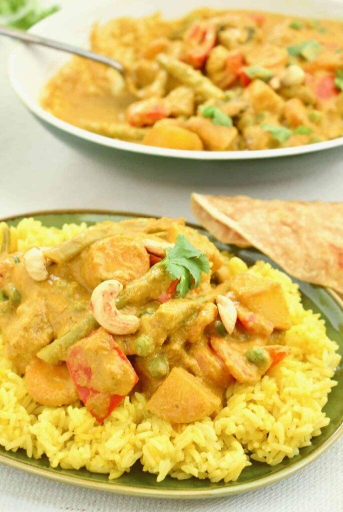 55 Vegetarian Indian Recipes – Vegan Korma | Hurry The Food Up