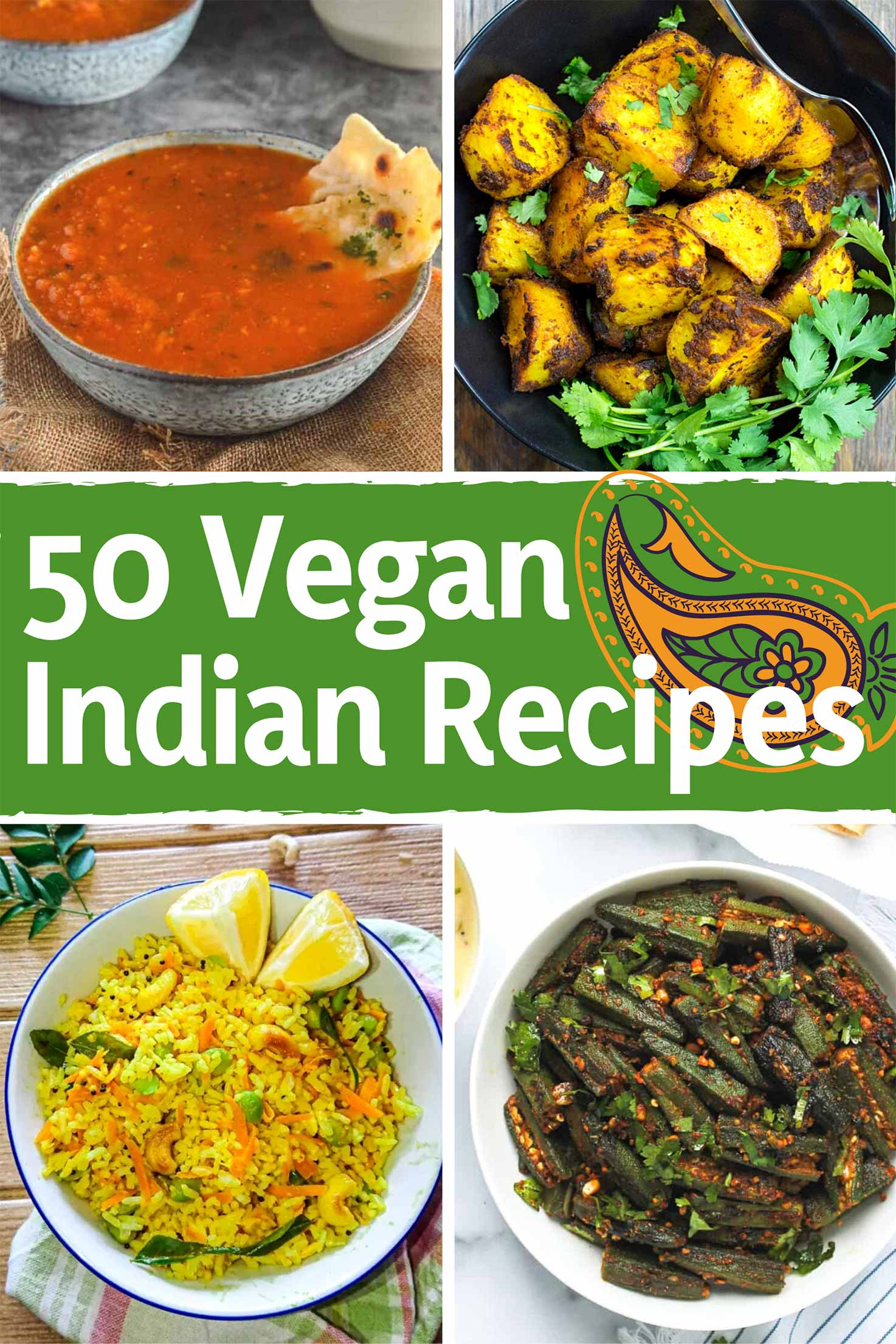 50 Vegan Indian Recipes – From comforting meals to showstopper desserts | Hurry The Food Up