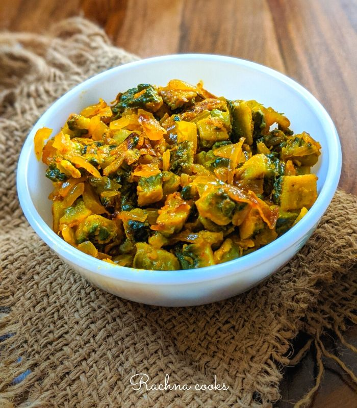 50 Vegan Indian Recipes – From comforting meals to showstopper desserts - Easy Karela Sabzi Recipe | Hurry The Food Up