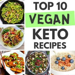 Top 10 Most Popular Vegan Keto Recipes - Delicious and satisfying | Hurry The Food Up
