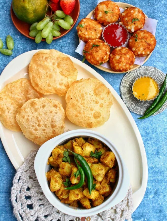 50 Vegan Indian Recipes – From comforting meals to showstopper desserts - Jeera Aloo – Cumin Roasted Potatoes Recipe | Hurry The Food Up