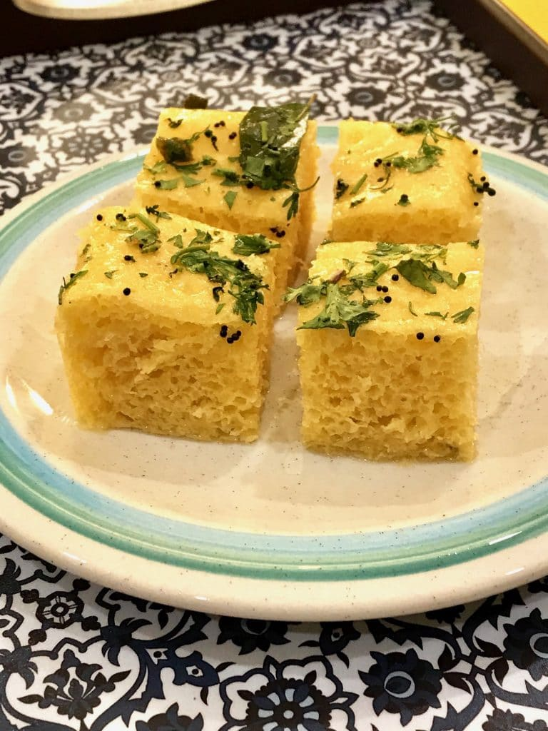 50 Vegan Indian Recipes – From comforting meals to showstopper desserts - Khaman Dhokla | Hurry The Food Up