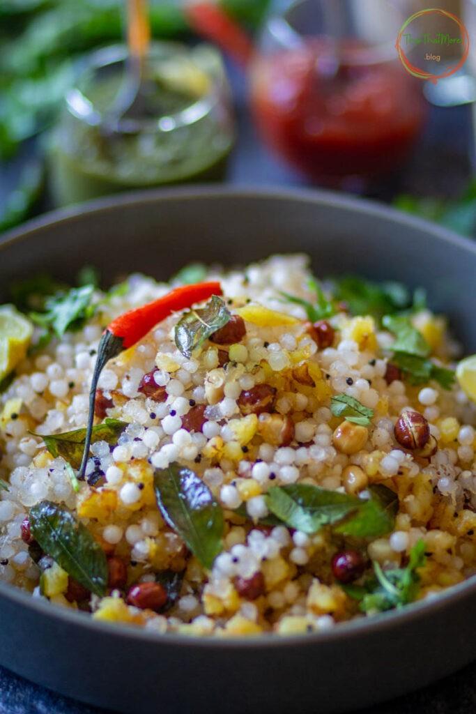 50 Vegan Indian Recipes – Sabudana Khichdi   Hurry The Food Up