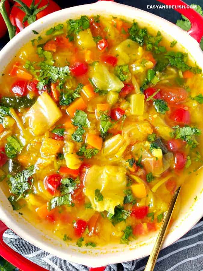 Top 10 Most Popular Vegan Keto Recipes - Delicious and satisfying - Cabbage Soup Diet Recipe | Hurry The Food Up