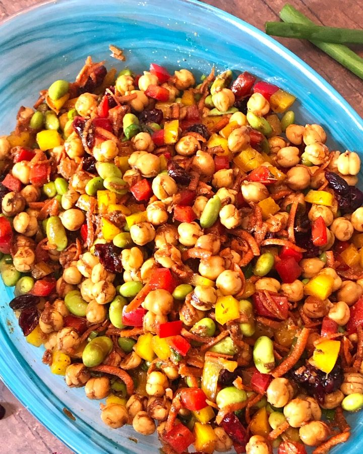 60 Vegan Weight Loss Recipes – Still delicious, just healthier - Chickpea Salad | Hurry The Food Up