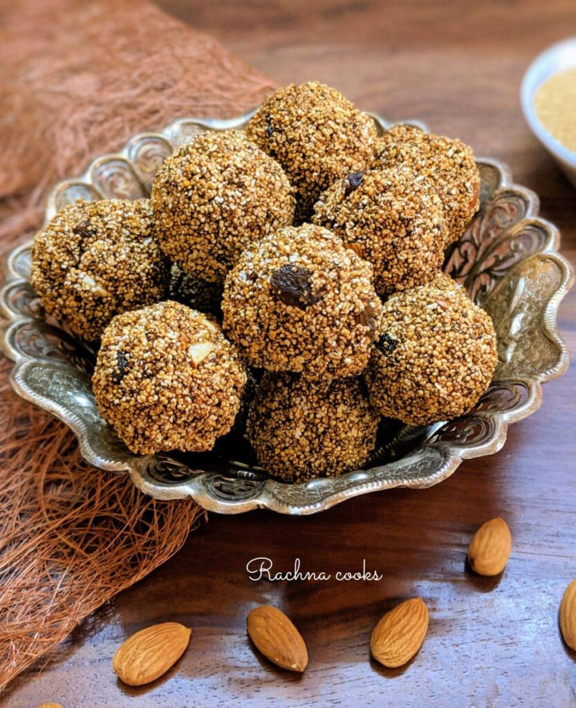 60 Vegan Weight Loss Recipes – Still delicious, just healthier - High Protein Popped Amaranth Seed Energy Balls | Hurry The Food Up