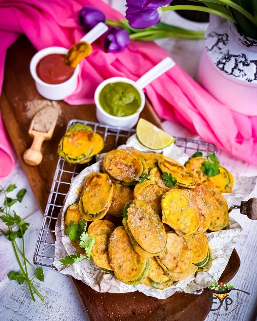 60 Vegan Weight Loss Recipes – Still delicious, just healthier - Healthy Zucchini Fritters | Hurry The Food Up