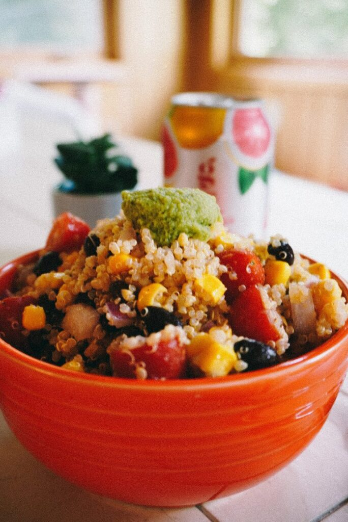 60 Vegan Weight Loss Recipes – Still delicious, just healthier - Southwest Quinoa Salad | Hurry The Food Up