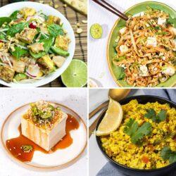 62 Vegan Tofu Recipes - Back to basics | Hurry The Food Up