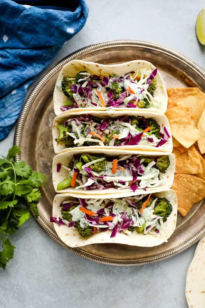 40 Vegan Broccoli Recipes – Plant-based plants - Vegan Broccoli Tacos | Hurry The Food Up