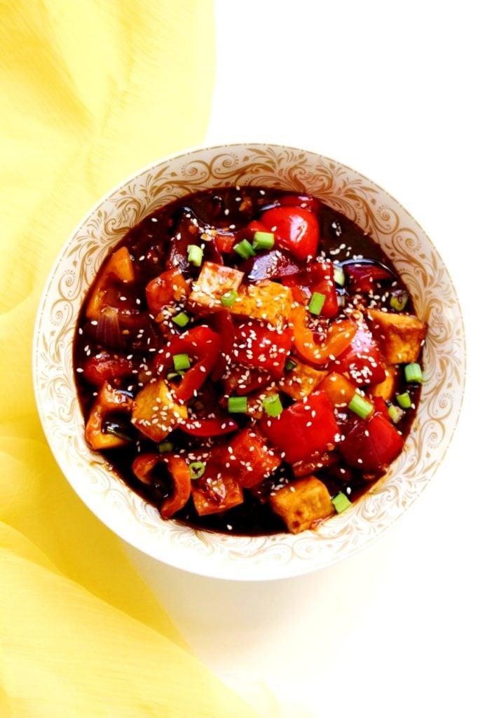 62 Vegan Tofu Recipes - Chili Tofu   Hurry The Food Up