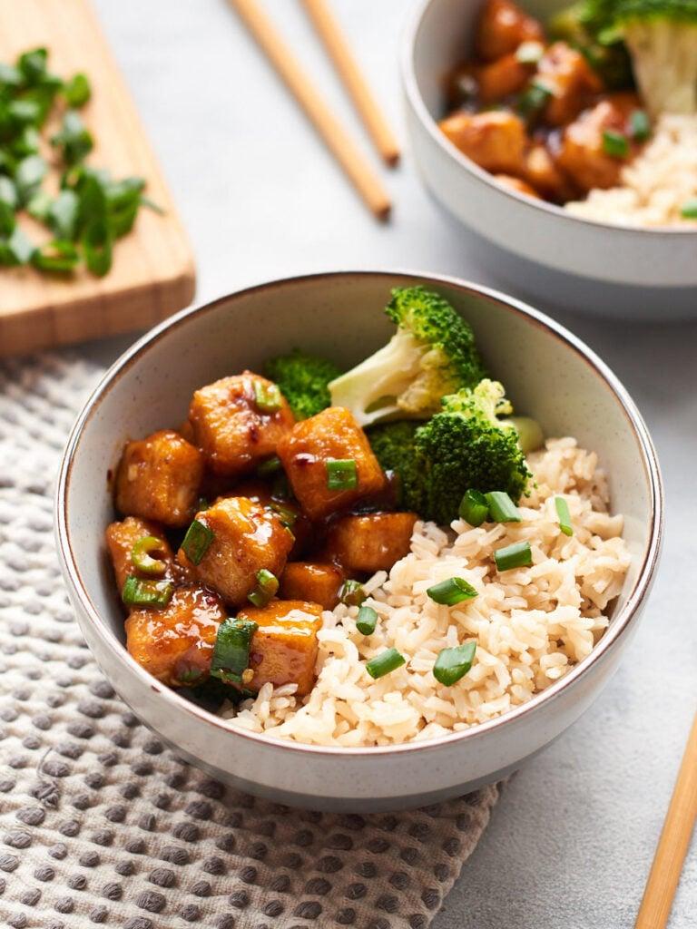 62 Vegan Tofu Recipes - Vegan Mongolian Beef   Hurry The Food Up