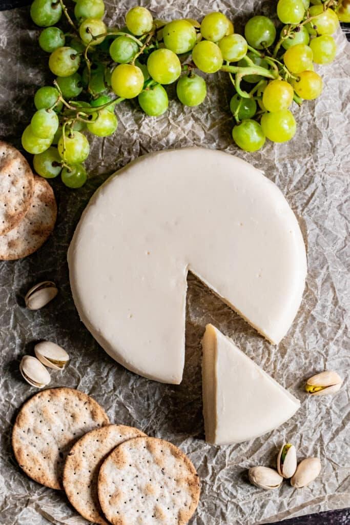 62 Vegan Tofu Recipes - Vegan Brie   Hurry The Food Up