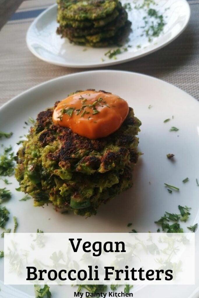 40 Vegan Broccoli Recipes – Plant-based plants - Vegan Broccoli Fritters | Hurry The Food Up