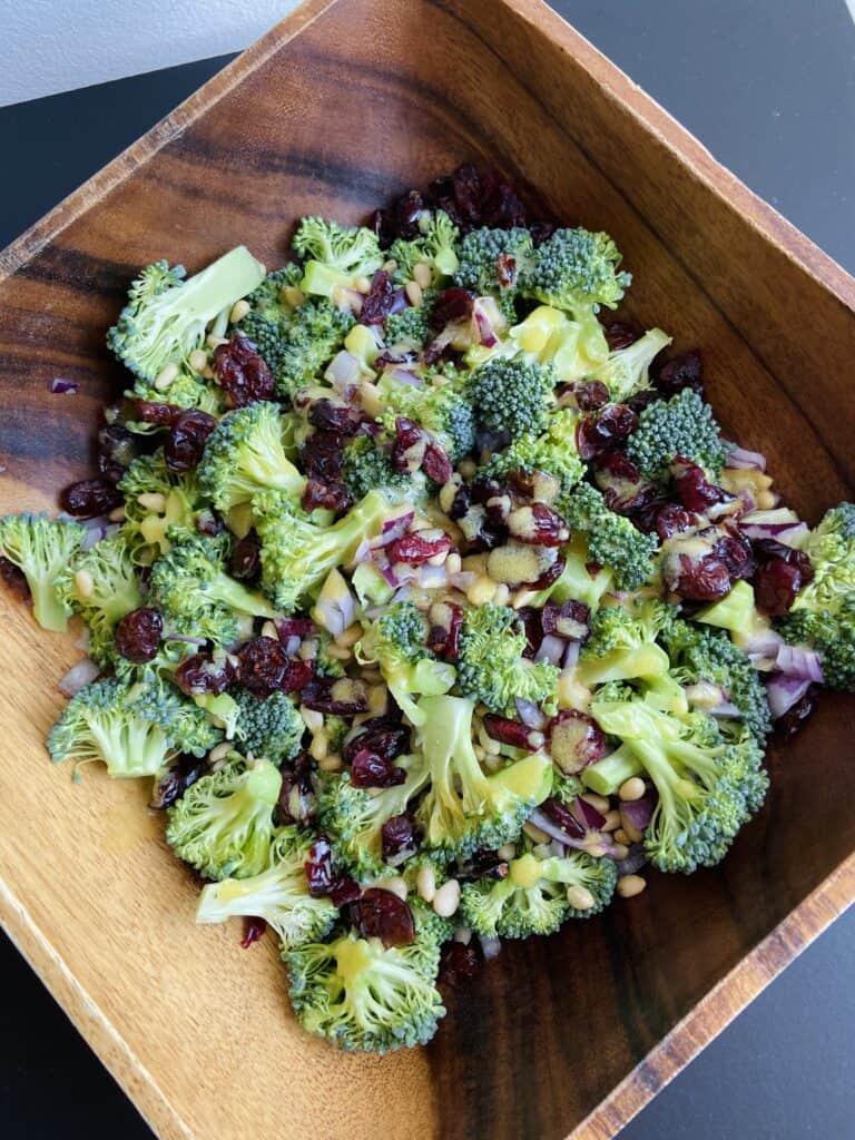 40 Vegan Broccoli Recipes – Plant-based plants - Addictive Vegan Broccoli Salad | Hurry The Food Up