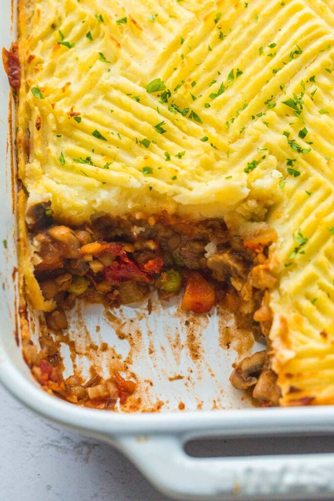 40 Sweet and Savory Vegetarian Pies – Bake your weekend away - Vegan Shepherd's Pie | Hurry The Food Up