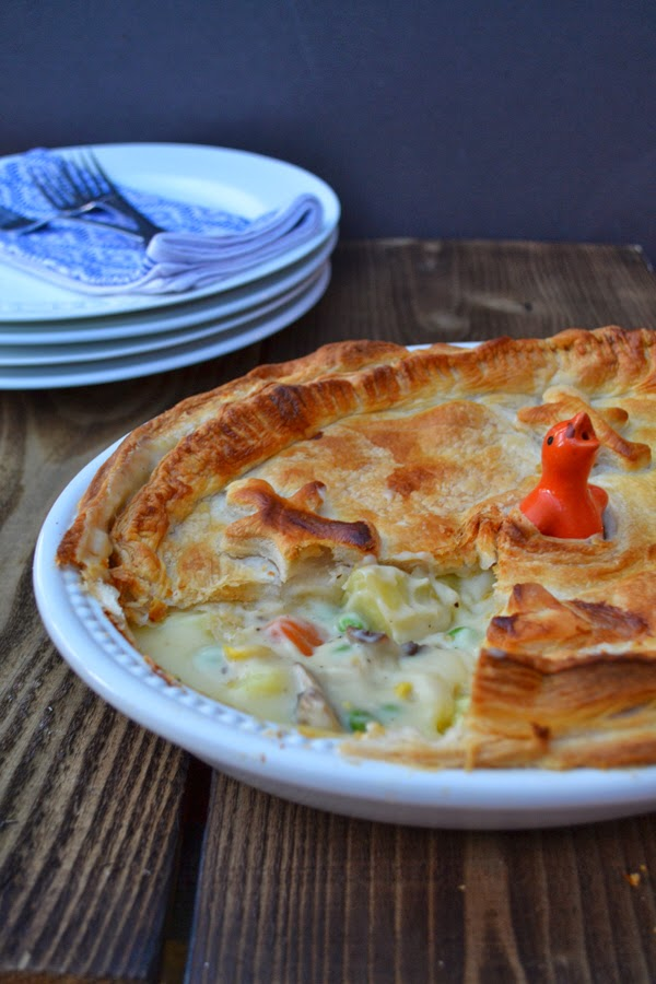 40 Sweet and Savory Vegetarian Pies – Bake your weekend away - Cheesey Vegetable Puff Pie | Hurry The Food Up