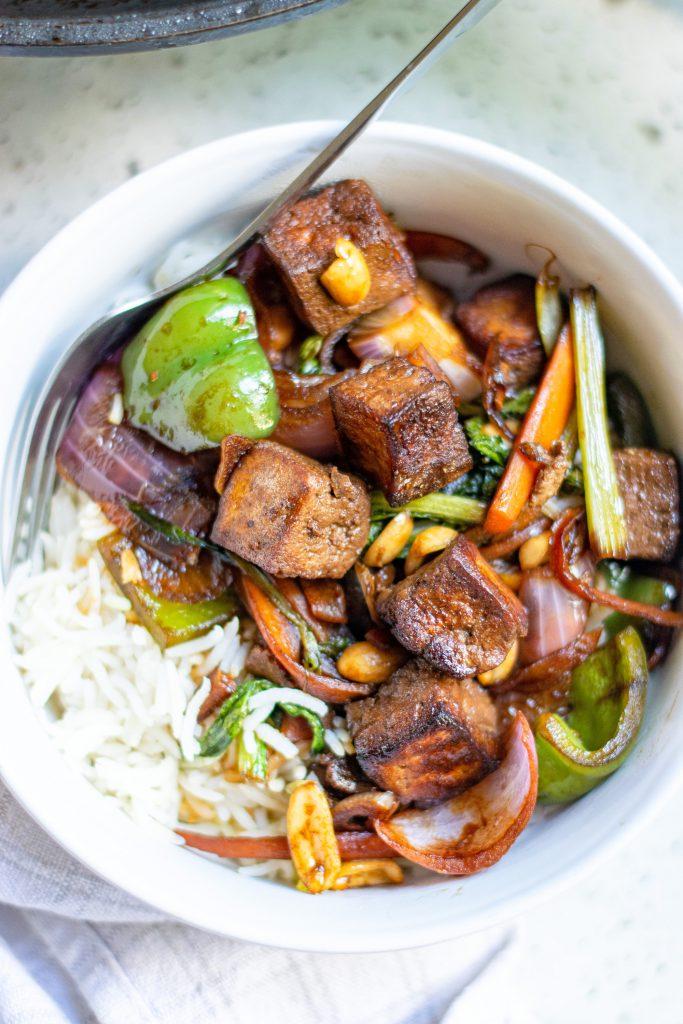 62 Vegan Tofu Recipes - Best-Ever Kung Pao Tofu Recipe   Hurry The Food Up