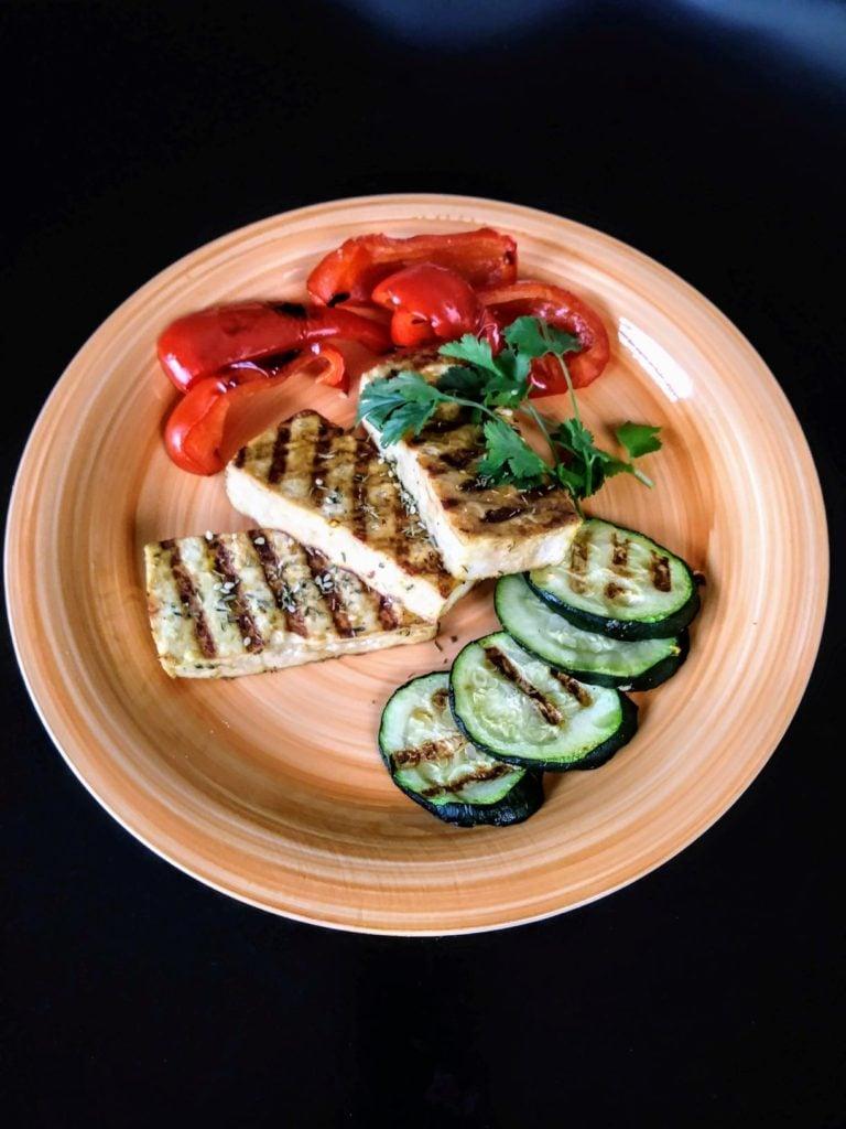 62 Vegan Tofu Recipes - Orange Tahini Grilled Tofu   Hurry The Food Up
