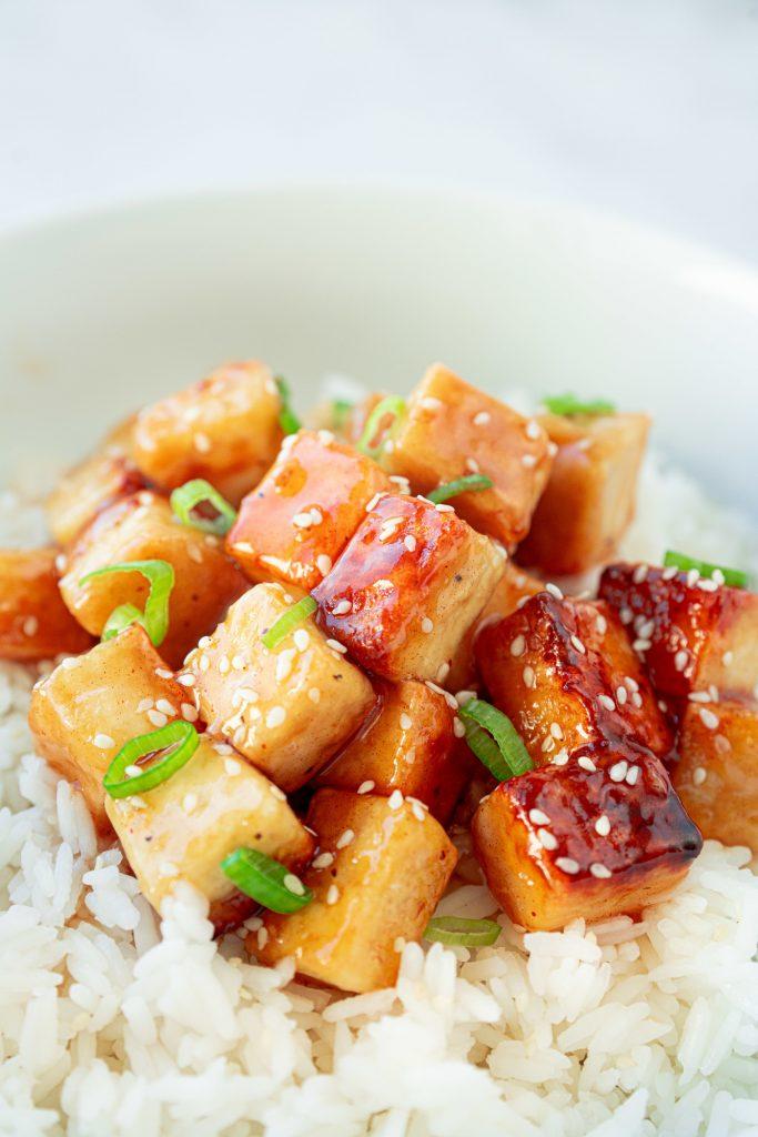 62 Vegan Tofu Recipes - Easy Vegan Orange Tofu   Hurry The Food Up