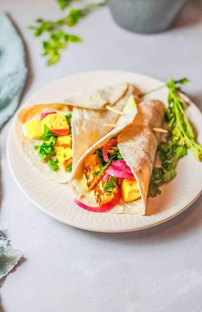 62 Vegan Tofu Recipes - Veggie Shawarma with Marinated Tofu   Hurry The Food Up