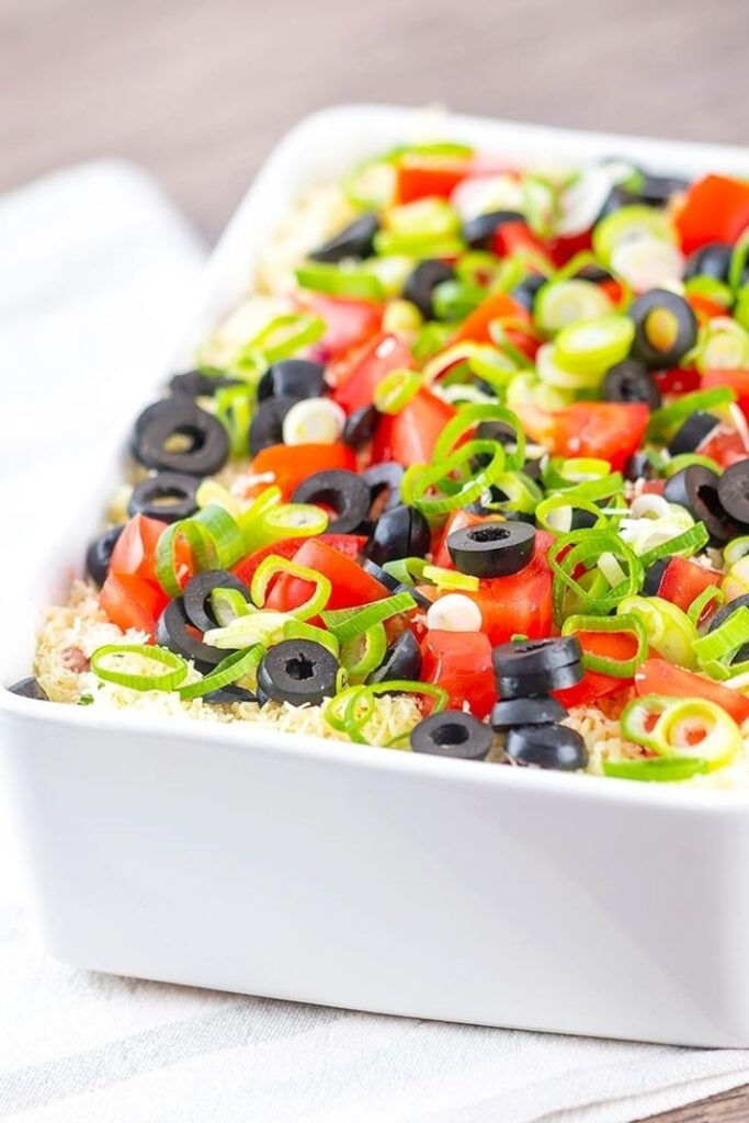 100 Gluten-free Vegetarian Recipes – Best 7 (Seven) Layer Dip | Hurry The Food Up