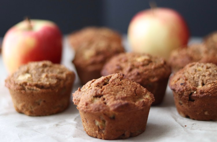 100 Gluten-Free Vegan Recipes - Apple Cinnamon Muffins | Hurry The Food Up