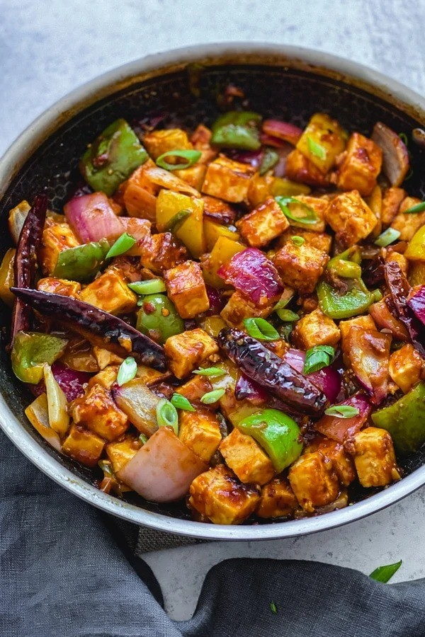 100 Gluten-free Vegetarian Recipes – Chilli Paneer | Hurry The Food Up