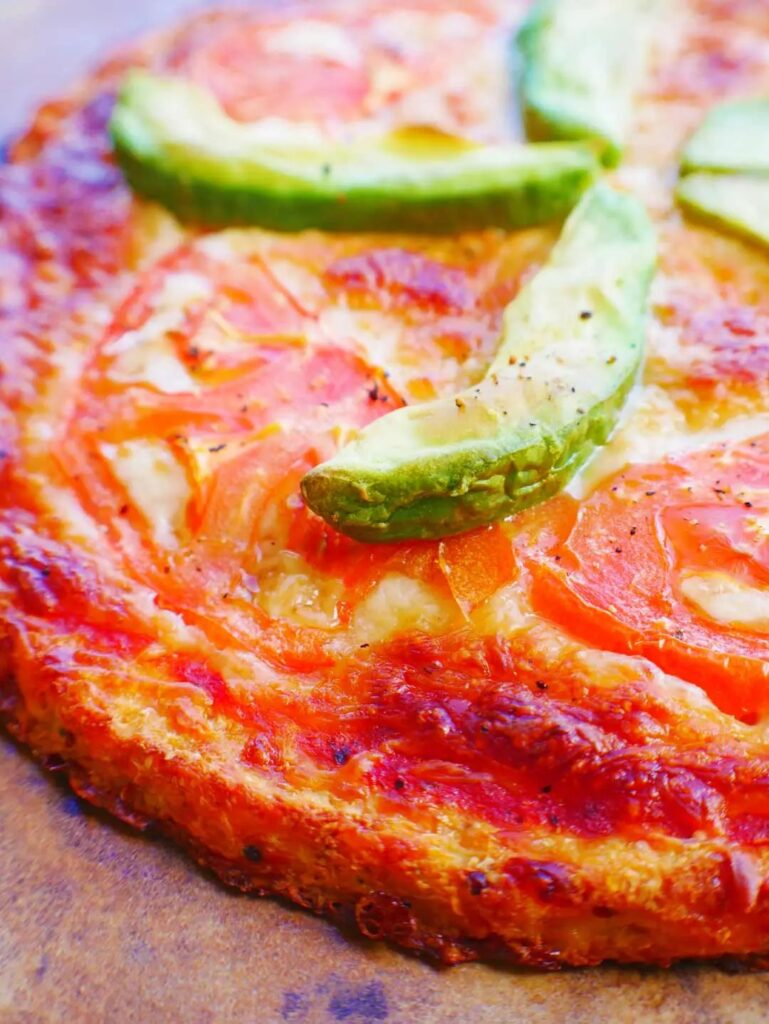 100 Gluten-free Vegetarian Recipes – Cauliflower Pizza Crust Recipe   Hurry The Food Up