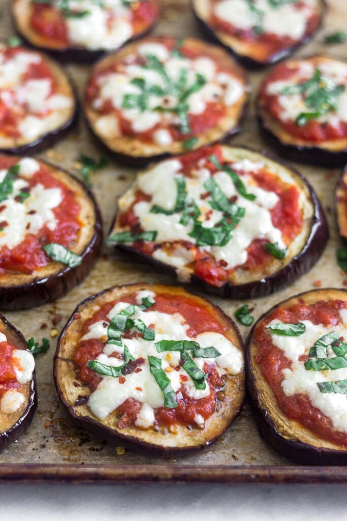 100 Gluten-free Vegetarian Recipes – Grilled Eggplant Pizza | Hurry The Food Up