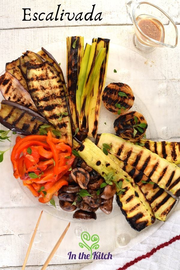 40 Vegan Eggplant Recipes - Escalivada (Grilled Vegetables) | Hurry The Food Up