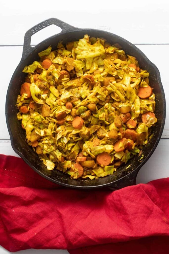 100 Gluten-free Vegetarian Recipes – Ethiopian Cabbage | Hurry The Food Up