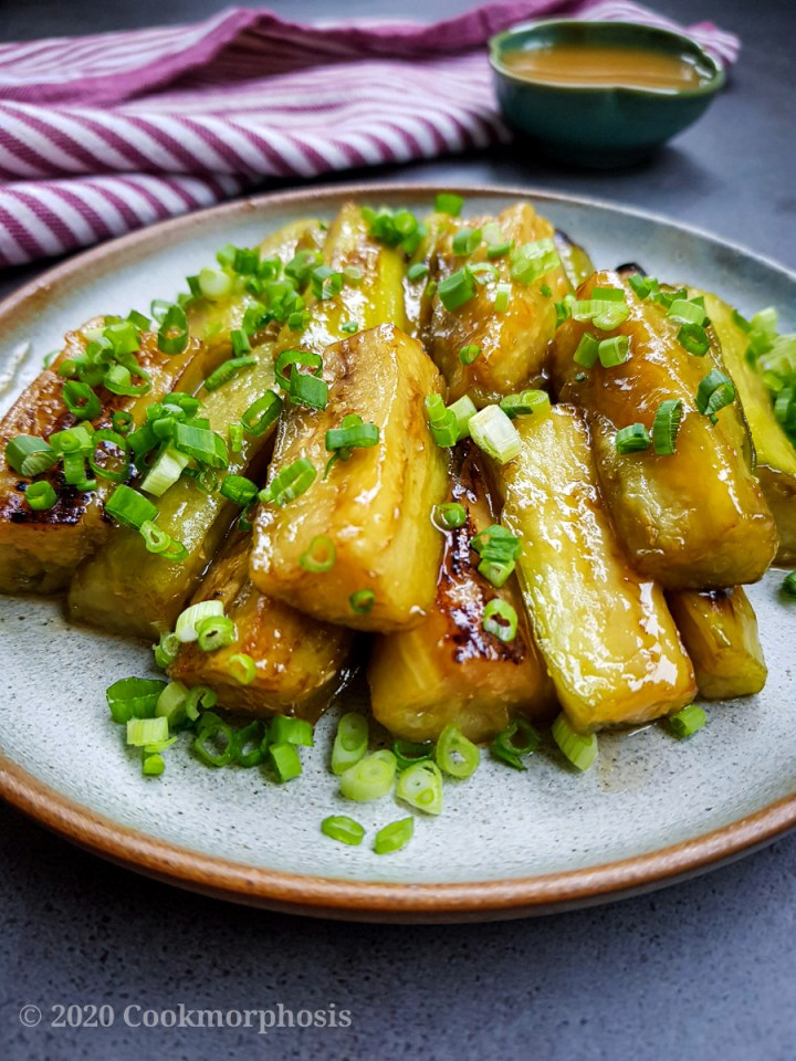 40 Vegan Eggplant Recipes - Japanese Miso Eggplant | Hurry The Food Up