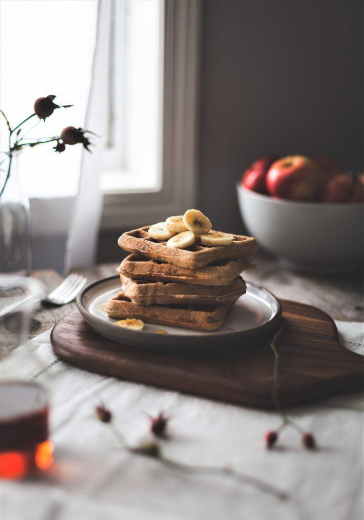 100 Gluten-Free Vegan Recipes - Vegan Gluten-Free Oat & Quinoa Waffles   Hurry The Food Up