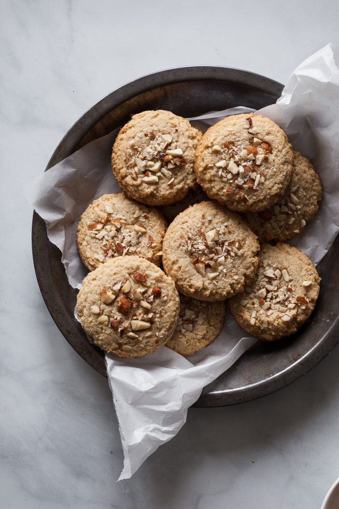 100 Gluten-Free Vegan Recipes - Vegan Gluten-Free Maple Almond Cookies | Hurry The Food Up