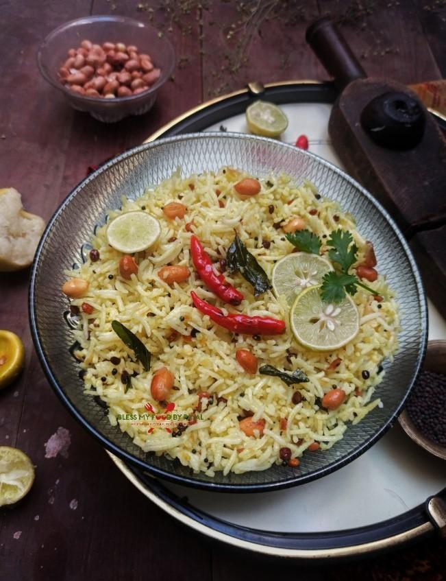 100 Gluten-Free Vegan Recipes - Vegan Lemon Rice   Hurry The Food Up