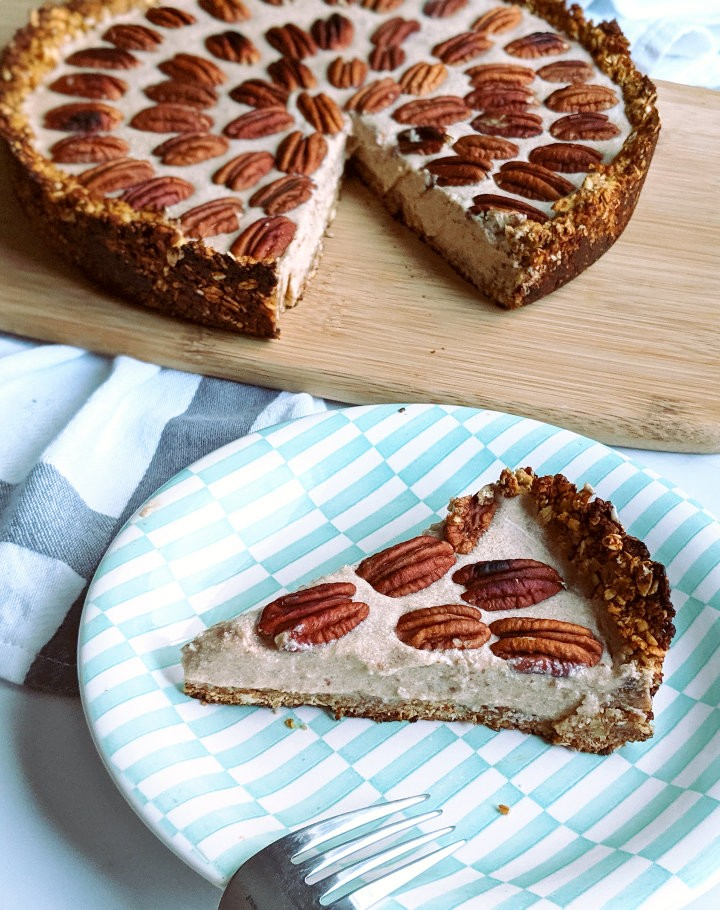 100 Gluten-free Vegetarian Recipes – Pecan Cream Pie | Hurry The Food Up