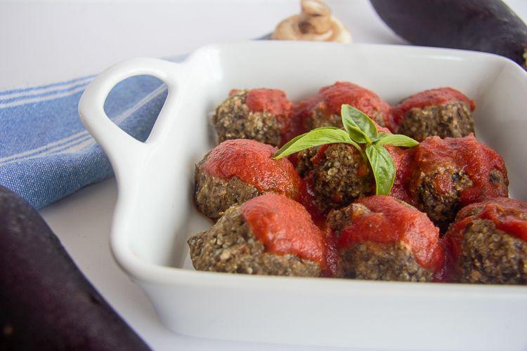 40 Vegan Eggplant Recipes - Keto Eggplant Meatballs | Hurry The Food Up