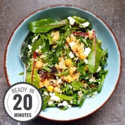 Chickpea Salad with Quinoa | Hurry The Food Up