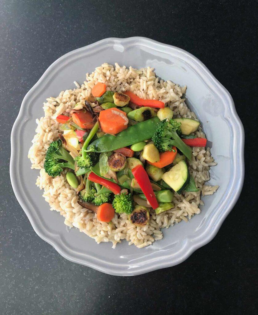 20 Best Vegetarian Stir Fry Recipes - Simple Teriyaki Stir Fry | Hurry The Food Up