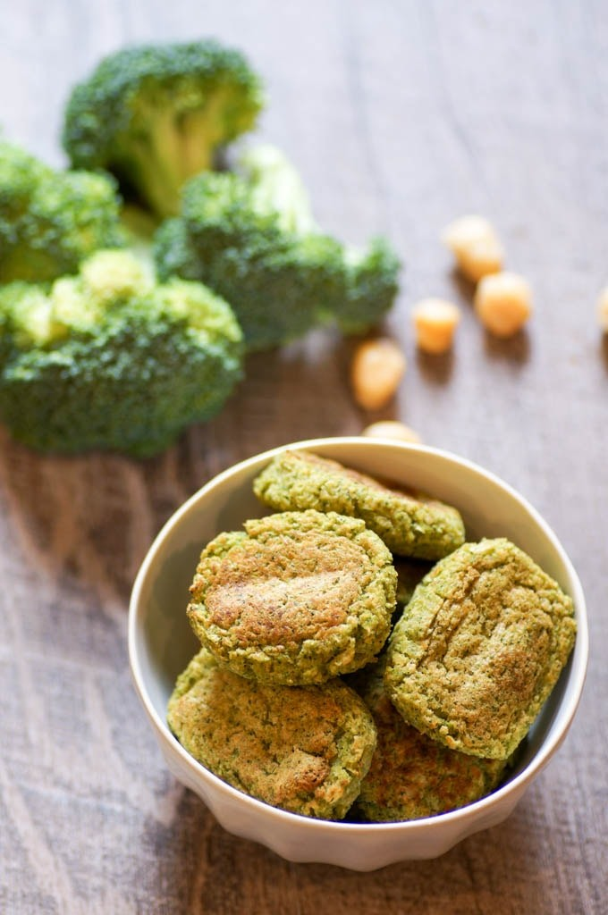 50 Vegetarian Recipes for Kids - Broccoli Tots | Hurry The Food Up
