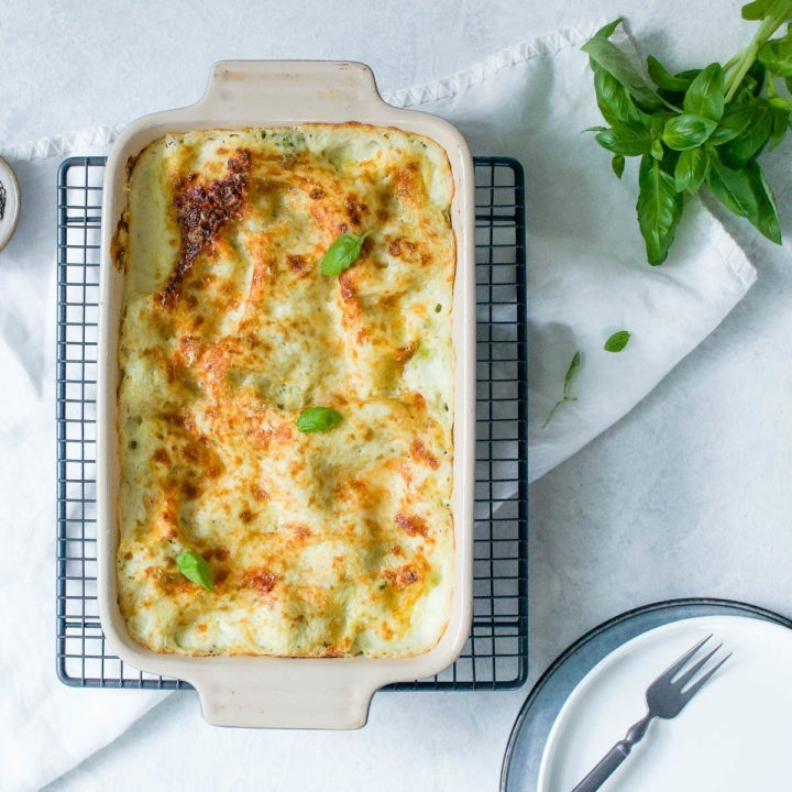 50 Vegetarian Recipes for Kids - Pesto Lasagne | Hurry The Food Up