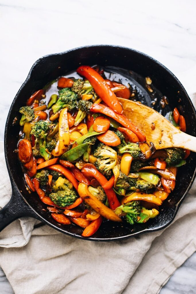 20 Best Vegetarian Stir Fry Recipes - 30 Minute Stir Fry Vegetables | Hurry The Food Up
