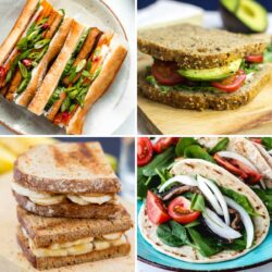 30 Best Ever Vegan Sandwich Recipes | Hurry The Food Up