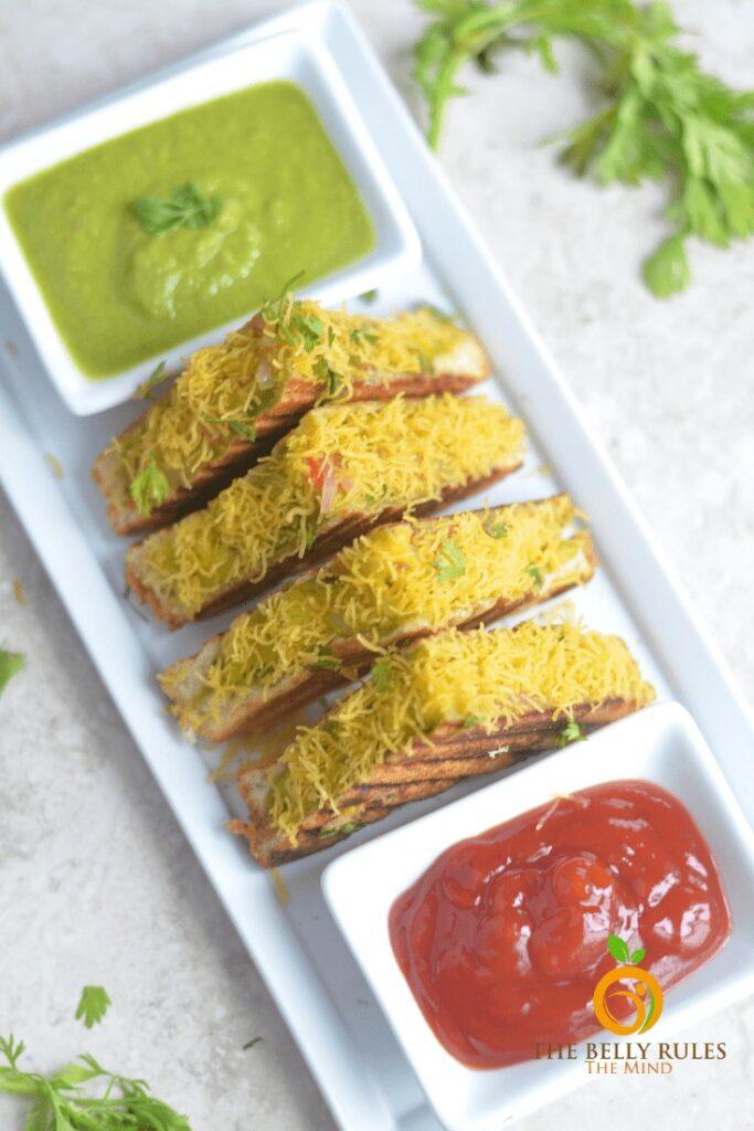 30 Best Vegan Sandwich Recipes - Bombay Sandwich | Hurry The Food Up