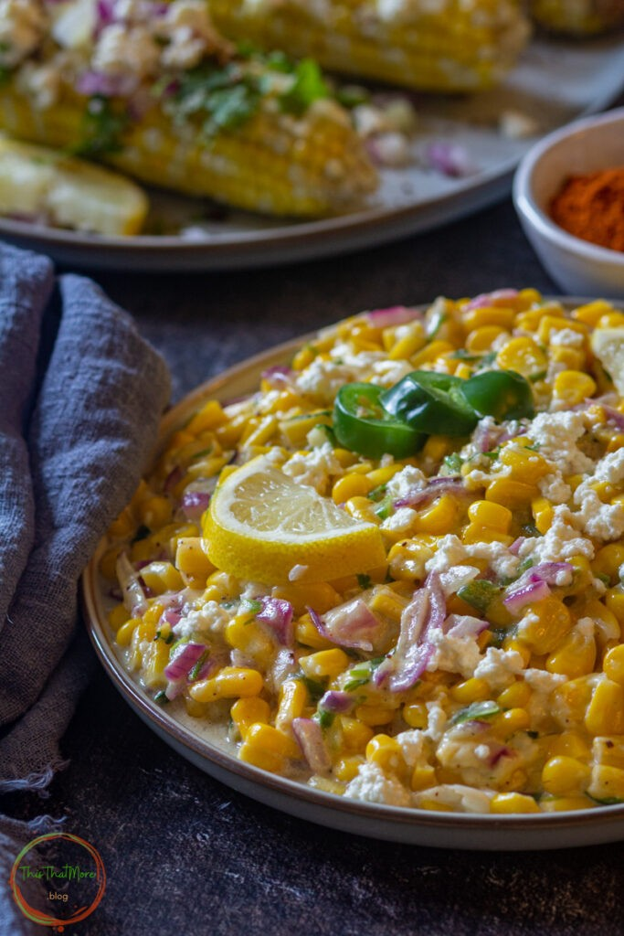 50 Vegan Mexican Recipes - Mexican Style Street Corn | Hurry The Food Up