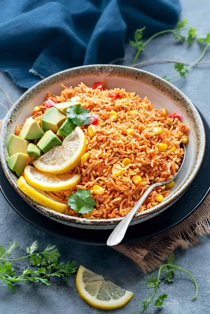 50 Vegan Mexican Recipes - Mexican Rice Recipe | Hurry The Food Up