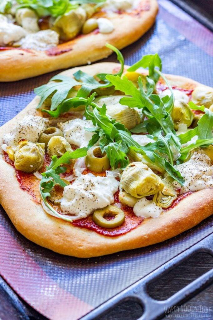 30 Best Veggie Pizza Recipes - Burrata Pizza | Hurry The Food Up