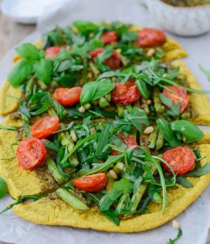 30 Ingenious Vegan Pizza Recipes - 2 Ingredient Vegan Quinoa Pizza | Hurry The Food Up